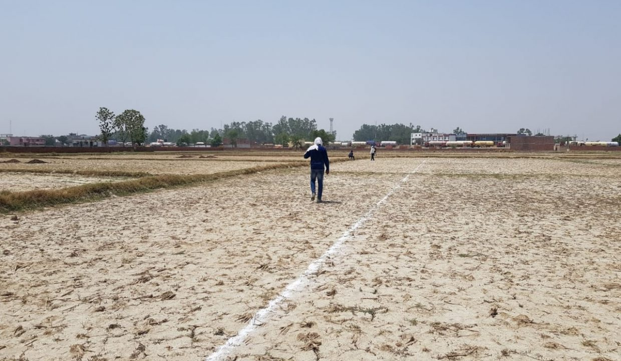 plot for sale in babatpur airport