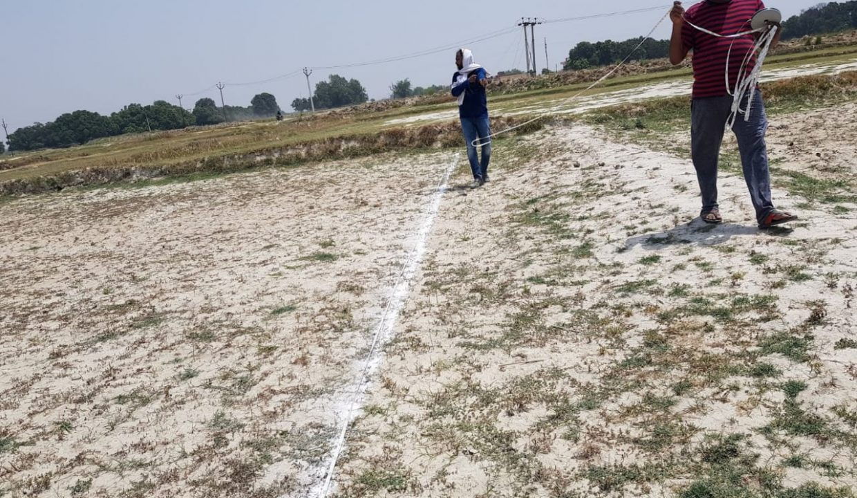 plot for sale in babatpur airport road